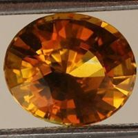 Natural Golden Yellow Sapphire
