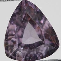 Natural purple spinel
